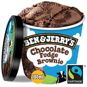 Foto Ben & Jerry's - Chocolate Fudge Brownie 100ml