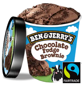 Foto Ben & Jerry's - Chocolate Fudge Brownie 500ml