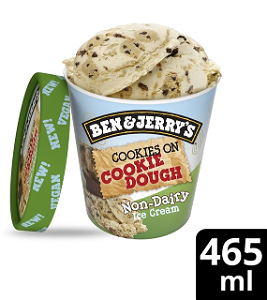 Foto Ben & Jerry's - Non- Dairy Cookies On Cookie Dough 465ml