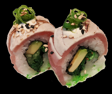 Foto Flamed Tuna Roll (4 stuks)