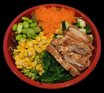 Foto Poke bowl Crispy Chicken