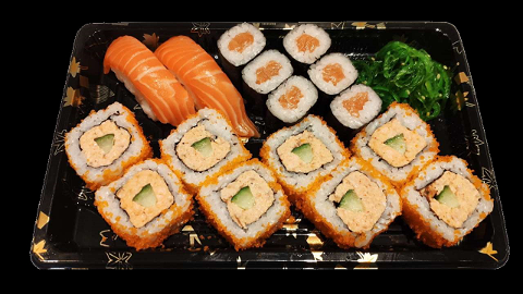 Foto A3 - Salmon Selection (16 stuks)